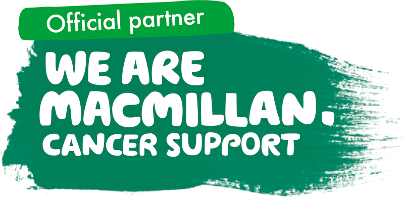 Official partner We are Macmillan Cancer Support