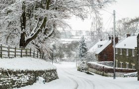 North York Moors Snow Scene At Danby Village 1 Of 1 5
